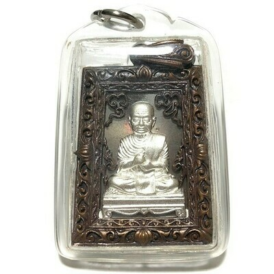 Rian Somdej Dto Pim See Liam Chalu Lai Yok Ongk 9 Sacred Metals Solid Silver Image Wat Rakang 2555 BE Only 599 Amulets made