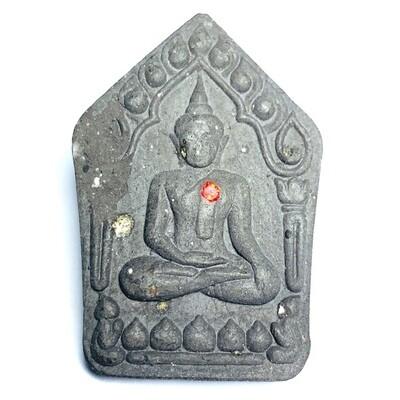 Khun Phaen Rae Koh Larn Fang Ploi Lek Lai Powders Good Health & Wealth Amulet Blessed in 9 Ceremonies with Luang Por Sakorn