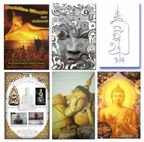 Sak Yant E Book + Buddha Magic 1 - 5 (Six Ebook Megapack save 32$)