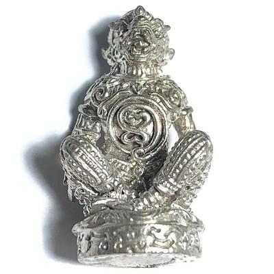 Hanuman Vayu Butra Nuea Albaca Ud Pong 2558 BE Amulet for Power, Charm, Protection, Victory & Invincibility Luang Por Raks Analayo
