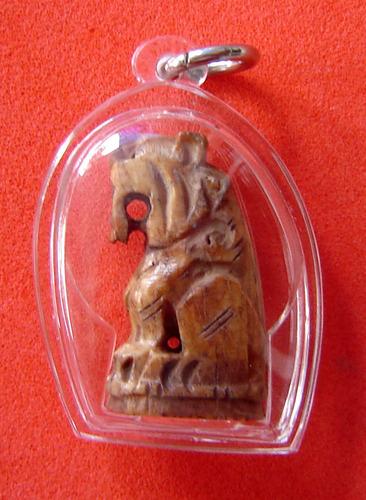Suea Maha Amnaj - Nuea Graduk gae (carved bone) - Luang Phu Nong Tammachodto