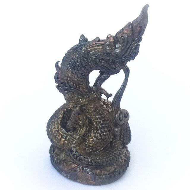 Ongk Phu Nakarach - Nuea Radtana Loha (Seven Sacred Metals) - 'Jaroen Porn Traimas' 2554 BE Edition - Luang Phu Nong Tammachodto - Wat Wang Sri Tong