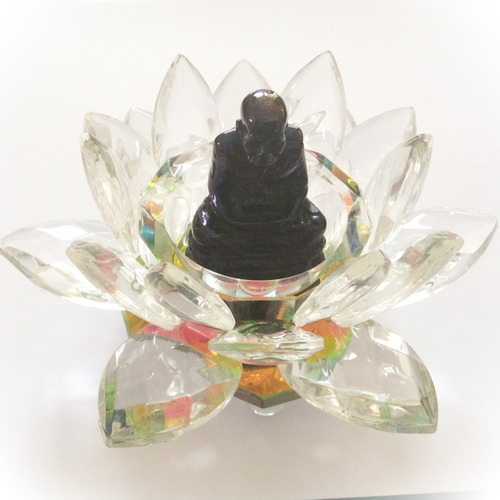 Luang Por Tuad  Lek Lai in Crystal Lotus  - Blessed by Luang Por Prohm, Kloi, Iad + the Khao or Masters 2548 BE