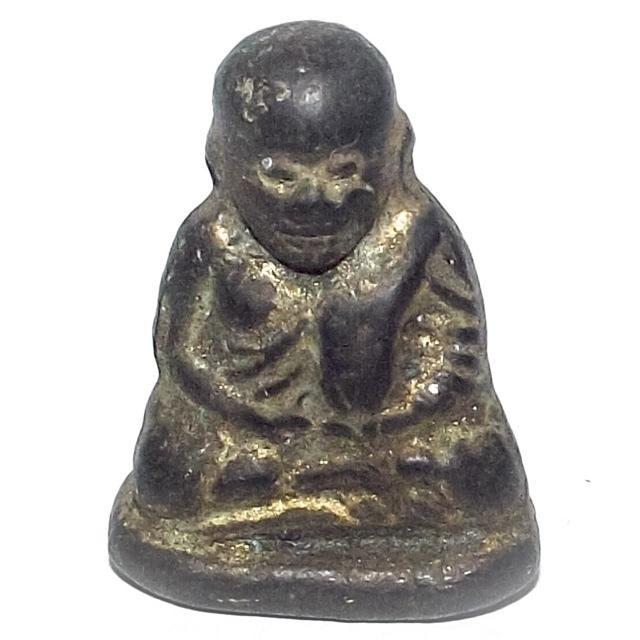 Pra Luang Por Ngern Pern Dtaek Pim Siarn Dto - Broken Gun Edition 2528 BE - Wat Kongkaram (Wat Bang Klan)