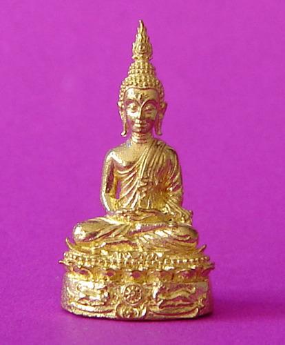 Pra Chayawat Niramit Choke - Nuea Tong Tip (Sacred Divine temple brass) - Niramit Choke edition - Luang Por Jaran - Wat Ampawan 2554 BE
