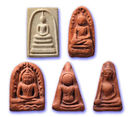 Benjapakee Collectors 'Benja Baramee' Somdej Edition - 5 Amulet Code Numbered Limited Edition Box Set - Wat Rakang Kositaram 2555 BE - 3141 Sets made
