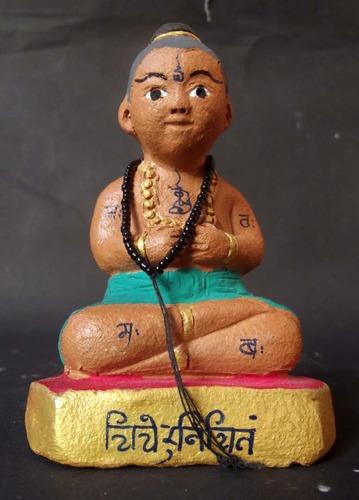 Kumarn Tong Jom Khamang Waet (Sorceror Kumarn) 2.5 Inches Wide x 4 Inches high Bucha statue for Good Business, Luck in Gambling, Promotion Seeking and Acquire Riches - Pra Ajarn Taep Pongsawadarn