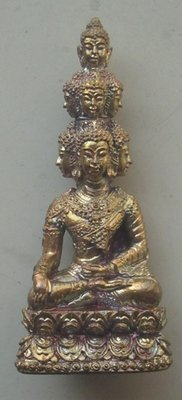 Pra Kring Navagote Mahasethee (Nine Faced Buddha for immense riches) - Navaloha - Luang Phu Pa