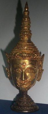 Siarn Pra Laks (Lakshman Kroo Mask) Bucha for altars - Wai Kroo 2551 BE - Luang Phu Ka Long - Wat Khao Hlaem - Extremely Rare Item