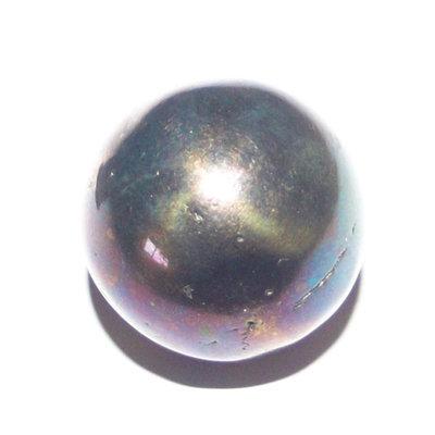 Lek Lai Sphere See Peek Malaeng Tap (Blue-Black) - Luang Por Huan - Wat Putai Sawan