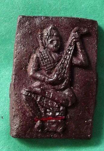 Kon Tan (Ongk Kroo) - Musical Deva Charm amulet for Maha Saneh attraction and enchantment - Nuea Pong Aathan - Yokee Harit Ta Tip Rit Taewa