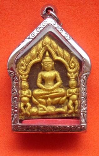Khun Phaen Prai Kumarn with 3 Kumarn Tong - Nuea Pong Pised Wan Bad Tong -Yant Grao Paetch - 7 Takrut Maha Sanaeh 5 Takrut Mad Jai and real pearl - by 5 Top Masters of Metta Maha Sanaeh Magic