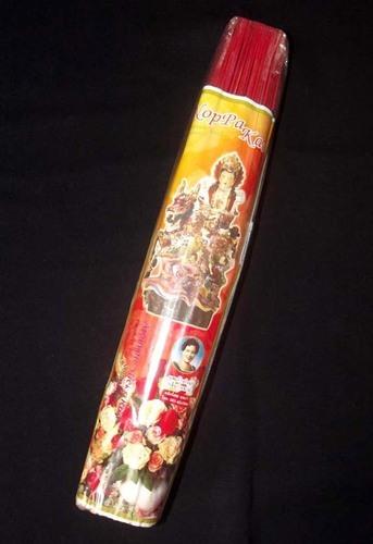 Noppakao Brand Rose Scented Incense Sticks - 300 grams Circa 300 Sticks 12 Inches Long Strong Aroma Noppakao Brand