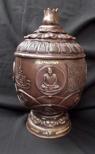 Khan Nam Montr (Holy Prayer Water Bowl) 6 Inches Diameter - Luang Por Prohm - Wat Ban Suan 2553 BE - Only 30 Made