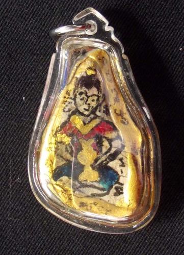 Chin Aathan Kumarn Tong Plai Maha Phuudt (Ghost Bone Carving) Ud Pong Maha Phuudt 108 Dton - Ajarn Wirataep Yan Kroo Prasit - Special Extra Empowerment by LP Dam of Wat Pra Puttabat Radtana Kiree