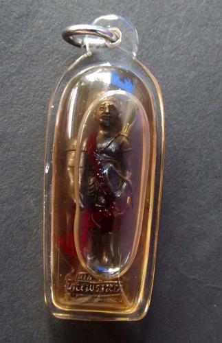 Hun Payont Pran Bun Riak Sap Pong Gan Pai (Meritorious Hunter calling treasures and protecting)- Chae Nam Man Maha Sanaeh (soaked in Prai Oil) - Luang Por Dam - Wat Pra Puttabat Radtana Kiree