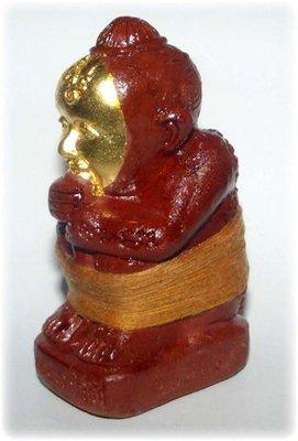 Kumarn Tong Run Sud Taay 27 Gote - 4 x 3.5 x 8 Cm Bucha Statue - Nuea Pong Prai Kumarn - 'Kumarn Tong Gao Gote' 3rd & Final Edition 2556 BE - Luang Por Goy