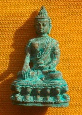 Pra Kring Nuea Nuea Sanim Khiaw - Run Sao Ha Maha Sethee (without case) - Luang Phu Nong Wat Wang Sri Tong