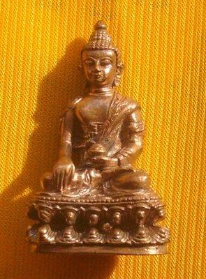Pra Kring Nuea Nuea Radtana Loha - Run Sao Ha Maha Sethee (without case) - Luang Phu Nong Wat Wang Sri Tong
