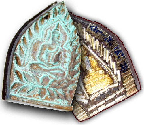 Pra Jao Sua Sethee Yai Jumbo - Nuea Chanuan Saksit with Beesnest - 108 Takrut Pra Radtanatrai, 1 Takrut Hua Jai Sethee & Navagote Buddha - Luang Por Jerd  Jao Sua Sethee Yai Edition 2556 BE