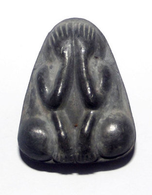 Pra Pid Ta Takua Gao Nom Kwai (Pim Yai) - Southern Khao Or Style Leaden Amulet (Large Size)- 'Por Tan Nam Run Sorng' (2nd edition) - Wat Don Sala 2555 BE