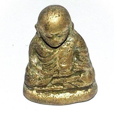 Pra Luang Por Ngern Wat Bang Klan Plord Pai Edition 2528 BE - Nuea Chanuan Gao - Luang Por Prueang Wat Hiranyaram (Bang Klan)