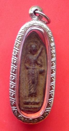 Pra Sivali Thaera Jao 2519 BE - Nuea Dam Prasat Khom Pan Pi (thousand year old Khmer temple earth) - Luang Phu Suang - Tewada Len Din (500 year old monk)  Reduced Price!!