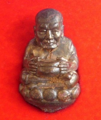 Roop Lor Boran Luang Por Tuad Bao Tup Pim Badtr Dto (large almsbowl hammered base) - Nuea Nava Loha (Gammagarn) - Ajarn Daeng Opaso - Wat Rai (Pattani) code 692