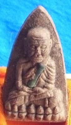 Pra Luang Por Tuad Tao Rid - two Gold Takrut - Ajarn Nong - Wat Sai Khaw (Pattani)