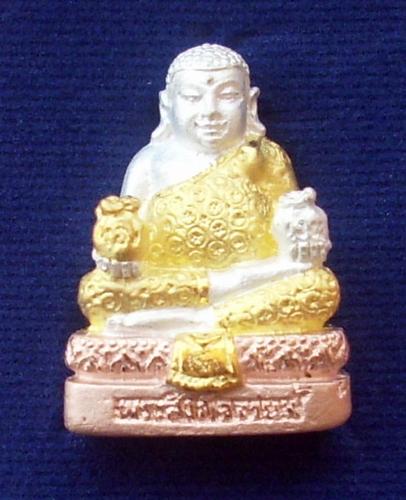 Pra Sangkajjai Maha Lap for riches health and happiness - Nuea Sam Gasat - Luang Phu Key Gittiyano