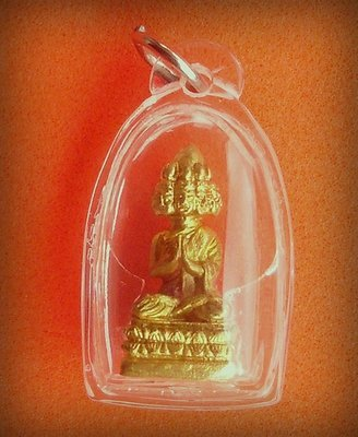 Phra Maha Sethee Navagote (Nine faced Buddha) for great Wealth and Happiness - Luang Por Somburn