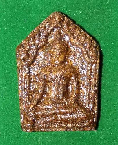 Pra Khun Phaen Jao Sanaeh Taep Ramjuan (Lord of Dancing Deva Enchantments) 'Run Boroma Sukh' (Ongk Kroo) with Sivali Arahant Relics - Luang Por Pramote - Wat Khao Changum 2553 BE