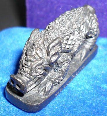 Moo Pha - Wild Boar amulet LP Phad