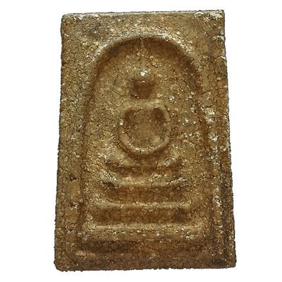 Pra Somdej Khaen Glom Pim Niyom - Wat Rakang Kositaram Preferred Model Master Class Amulet by Luang Phu Nak 2495 BE