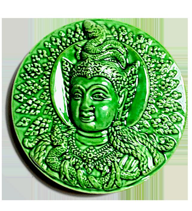 Jatukam Ramataep Nuea Pong Klueab 2550 BE - Blessing at Nakorn Sri Tammarat Shrine