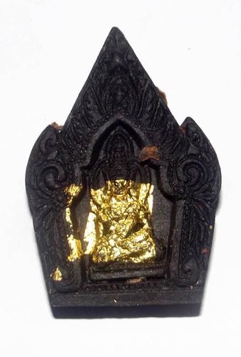 Khun Phaen Prai Gao Dton (Hardcore) Ongk Kroo Pim A - 'Run Prai Pratana' edition - Nine Prai Ghosts + Elephant Oil + Ghost Bone+ Silver Takrut - Pra Ajarn Dtecharangrsi