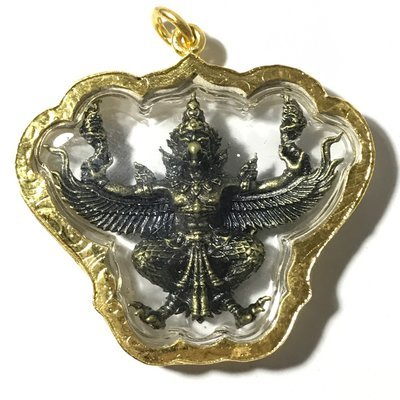 Paya Krut Yud Nak Baramee Sethee - Garuda Amulet for Status, Invincibility and Power - Wat Krutaram (Ayuttaya) 2560 BE