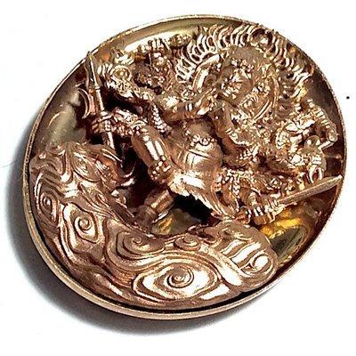 Rian Pra Tanabodee Maha Sethee Champol Nuea Nava Loha - Vaisaravana Vajrayana Deity Blessed at Borobudur Only 300 Made