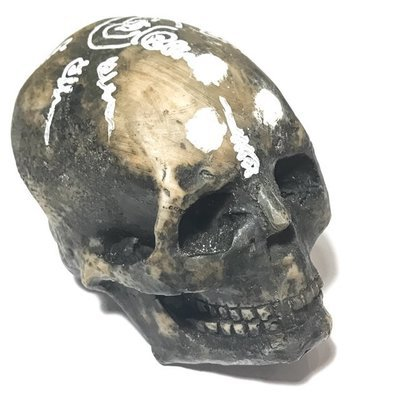 Hua Hoeng Prai Pragay Mas Bucha Size Skull - Necromantic Ghost Invoked with Funereal Artifacts - Por Kroo Noi Dtan Chiang Mai Lay Sorceror