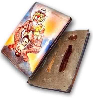 Ruesi Phu Jao Saming Prai Pim C (Special) - Maha Sanaeh Powders, 2 Takrut, Look Namo + Sau Hlong Herb - Bucha Kroo/Sang LP Kong Edition 2555 BE - Pra Ajarn Oe Putto Raksa