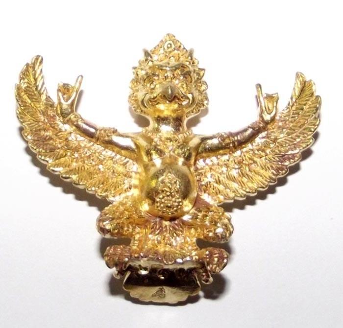 Paya Krut Tibet - Hmeun Larn Riak Sap Rap Choke - Nuea Chanuan Krut Tibet Boran (Ancient Tibetan Garuda Metal) - Jao Sua Nirandtarai Edition 2555 BE - Pra Ajarn Daeng Opaso