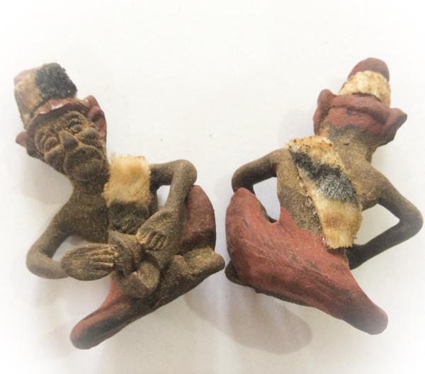 Lersi Por Gae Dtad Dton (Hin Bod Pong) - Hermit God Stone Grinding Sacred Powders amulet - Ajarn Plien (Wat Don Sala)