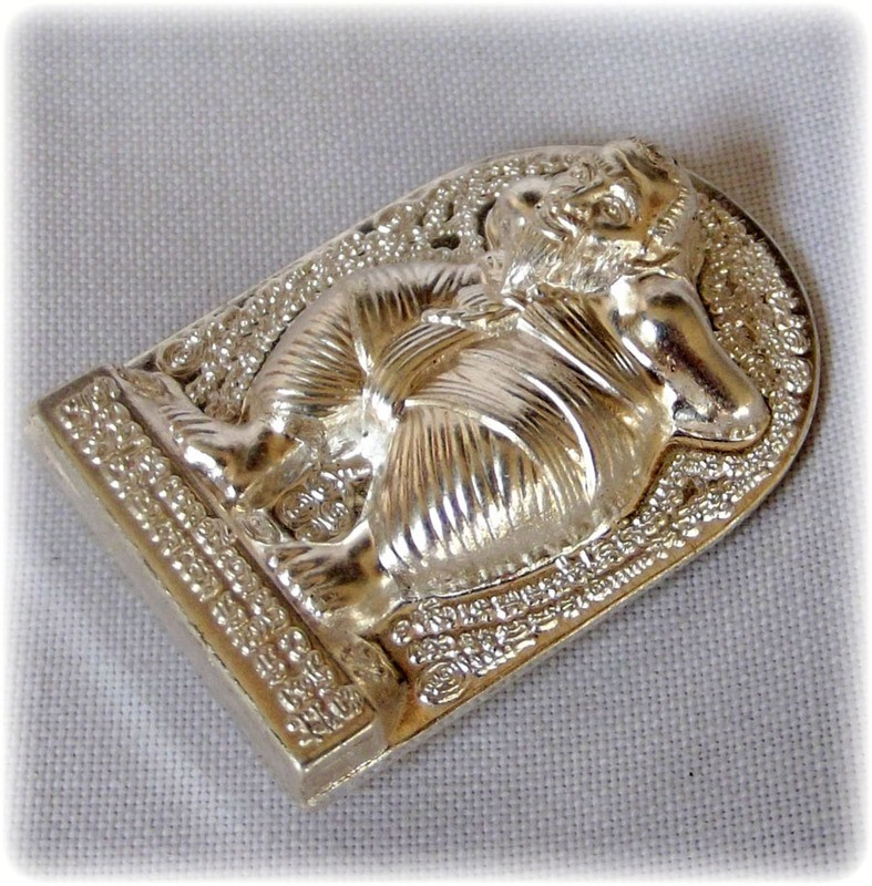 Hun Payont Dta Ba Khaw - Nuea Ngern (Solid Silver) - 'Hmeun Yant' Edition (1000 Yantra) 2555 BE - Por Tan Kloi - Only 200 Made
