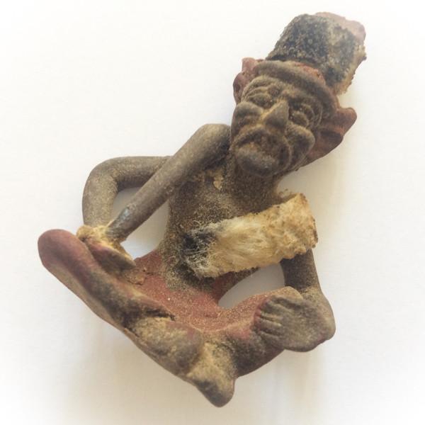Lersi Por Gae Dtad Dton Krabong Pittigaam - (Holding Ritual Staff/Club) - Ajarn Plien (Wat Don Sala)