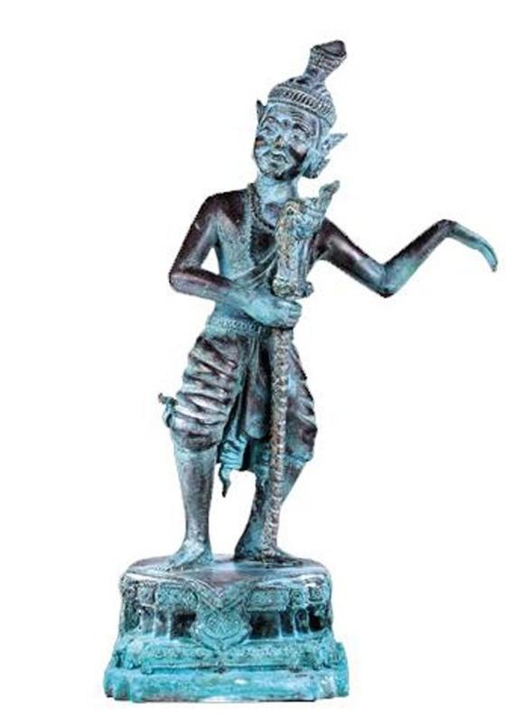 Pra Lersi Paetchalugan Pang Samer Thaera - Bucha Statue 11.5 Inches - Luang Por Choo Master Day Edition 2555 BE