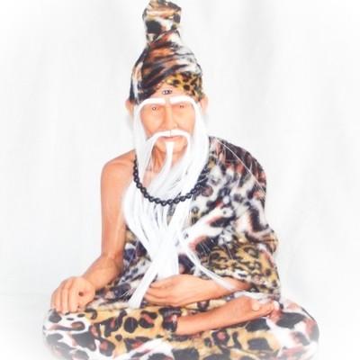 Pra Ruesi (Por Gae)  Boroma Kroo 12 inch high Bucha Statue - Wat Ratcha Nad Da/Asrom Por Taw Guwen  (resin)