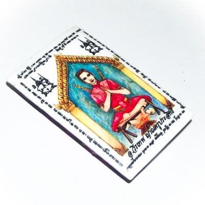 Locket Khun Phaen Yang Kumarn Tong - Nuea Pong Look Krok, Ploi Sek + Nam Man Prai - Kumarn Bone Powder, Gems, Takrut Prai Oil - Ajarn Wirataep + 7 Great Lay Masters - #110 - 199 Made