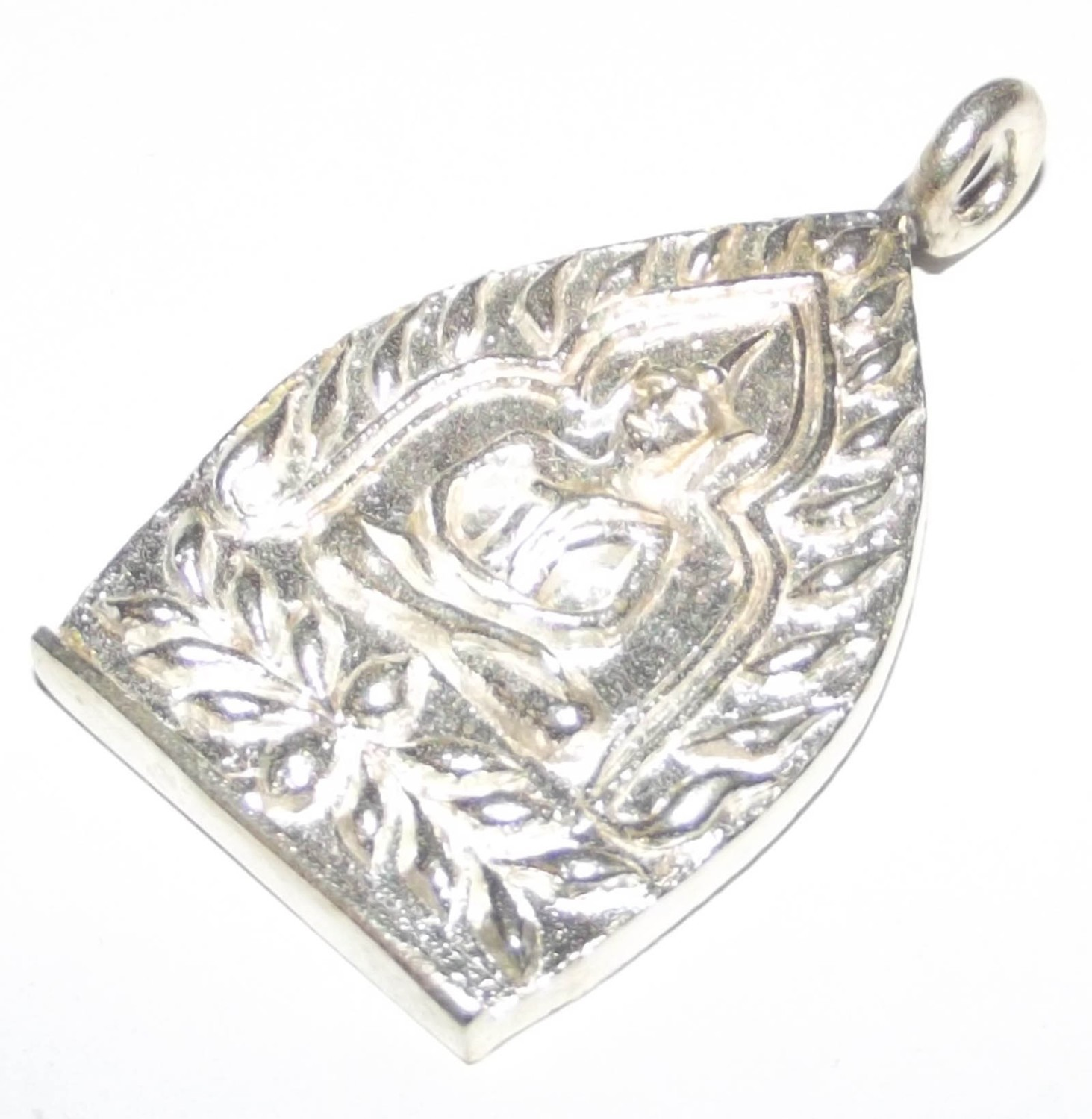 Rian Jao Sua Baeb Huang Chueam - Solid Silver with Hand Inscription - Sethee Yai Edition 2556 BE - Luang Por Jerd - only 99 made
