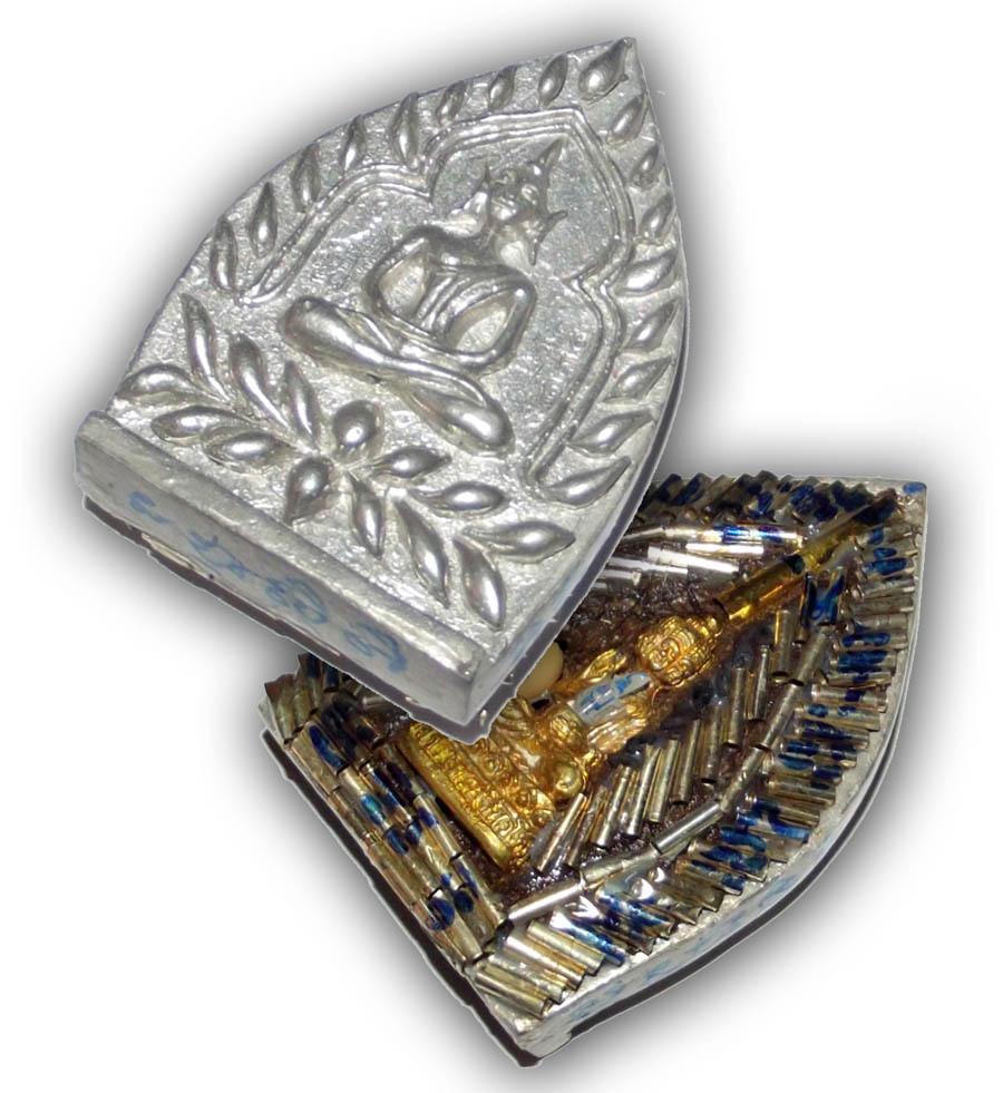 Pra Jao Sua Sethee Yai Jumbo - Nuea Rae Saksit - 108 Takrut Pra Radtanatrai, 1 Takrut Hua Jai Sethee & Navagote Buddha - Luang Por Jerd  Jao Sua Sethee Yai Edition 2556 BE