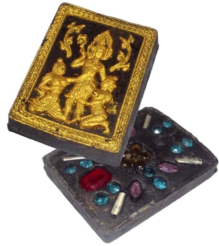Paetch Payatorn Maha Sanaeh 'Ongk Kroo' Masterpiece Version - Ran Sa-Or Yer Niang 2555 BE Edition - 22 Gems, 4 Takrut - Luang Por Khern